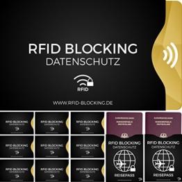 RFID Schutzhüllen Gesamtpacket (12 Stück) - 1